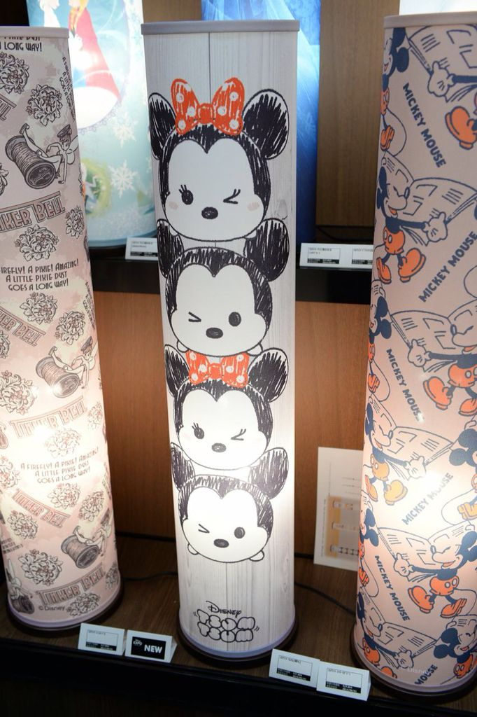 Disney Tsum Tsum merchandise at Disney Expo Japan 2015.