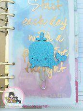 Paperpins lifeplanner-  Balena glitter