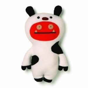 Ugly Dolls: Gund Uglydoll Wage Cow Stuffed Animal Wage is all about focus. This cute and cuddly 11″ Wage doll is dressed in a black and white spotted cow suit for a day on the farm.  http://awsomegadgetsandtoysforgirlsandboys.com/ugly-dolls/  Ugly Dolls: Gund Uglydoll Wage Cow Stuffed Animal