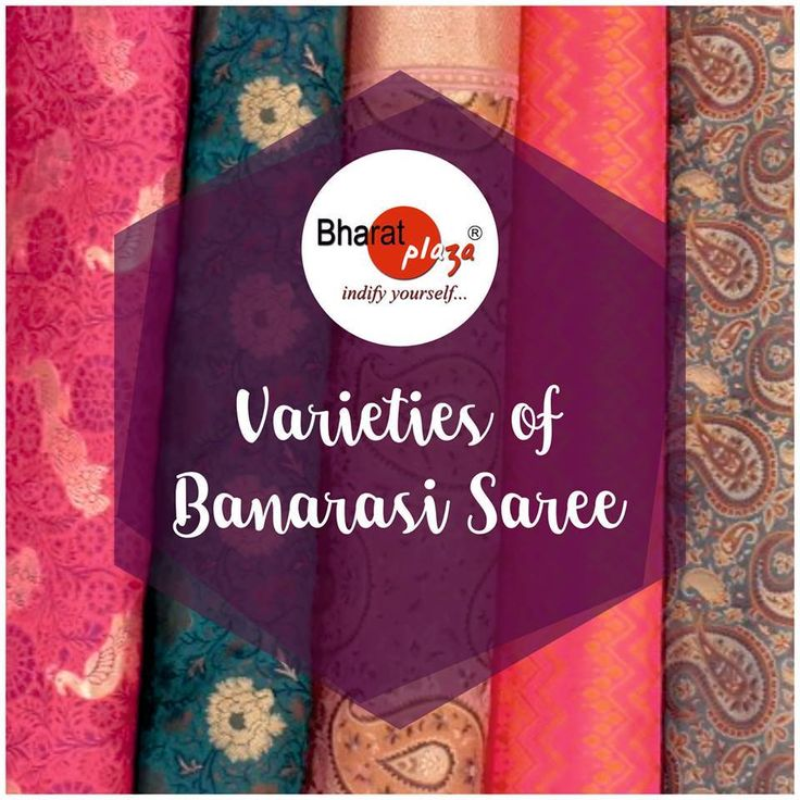#GoodToKnowInformation A Banarasi saree is a saree made in Varanasi, a city which is also called Benares or Banaras. The sarees are among the finest sarees in India and are known for their gold and silver brocade or zari, fine silk and opulent embroidery. The sarees are made of finely woven silk and are decorated with intricate design, and, because of these engravings, are relatively heavy. Varieties of #Banarasi Saree #BharatPlaza