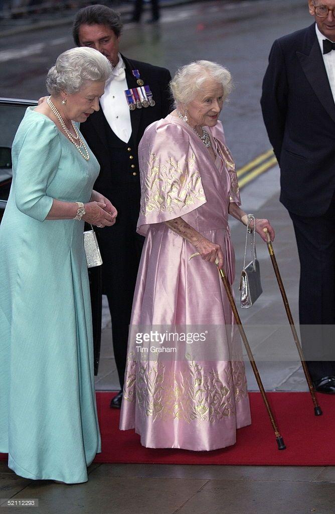Queen Elizabeth II and Queen Elizabeth, the Queen Mother