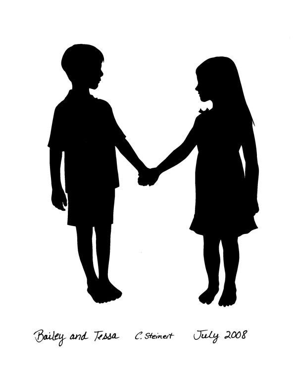 Girl And Boy Holding Hands Drawing : holding, hands, drawing, Shadow, Holding, Hands, Images, Pinterest, Boys,, Shadows, Shadow,, Drawing,, Painting