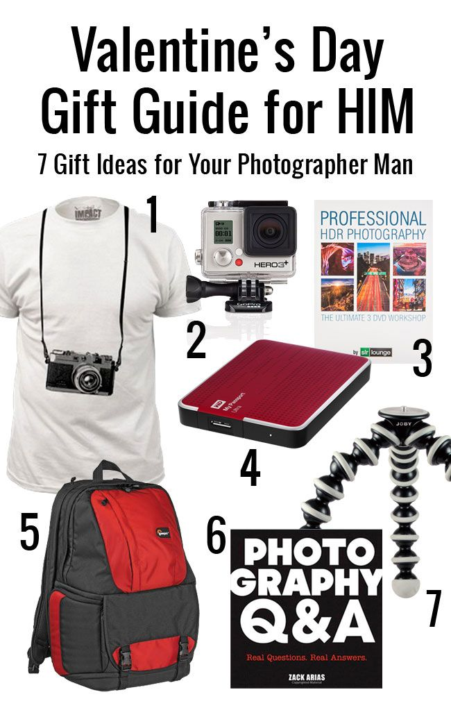 VALENTINEu0027S DAY GIFT GUIDE FOR HIM: 7 GIFT IDEAS FOR YOUR PHOTOGRAPHER MAN