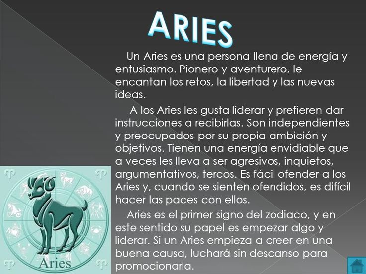 #horoscopo #aries #como #es #descripcion #tarot #zodiaco #personalidad #definicion #define