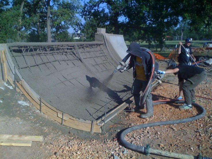 Patterson Park Cement Mini Ramp Project Building a Mini ...