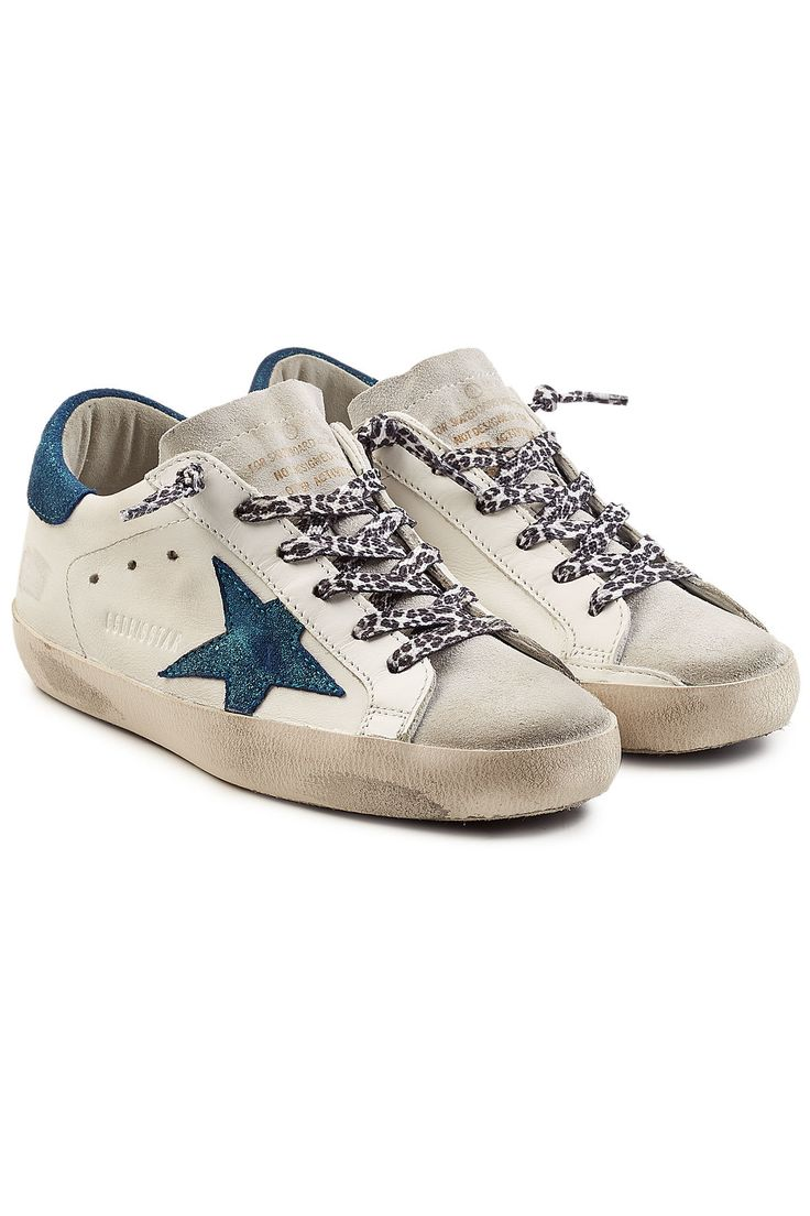 Golden Goose Deluxe Brand Super Star Leather Sneakers