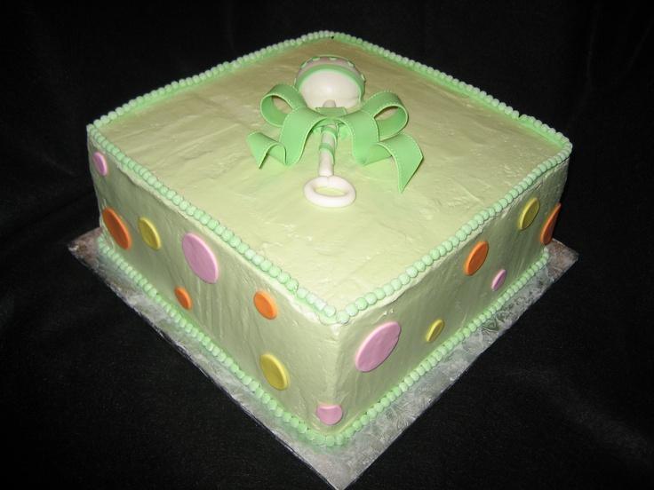 Baby Shower Cake - Charlotte, NC