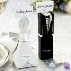 formal gown u0026 tux favour boxes and place card holders wedding