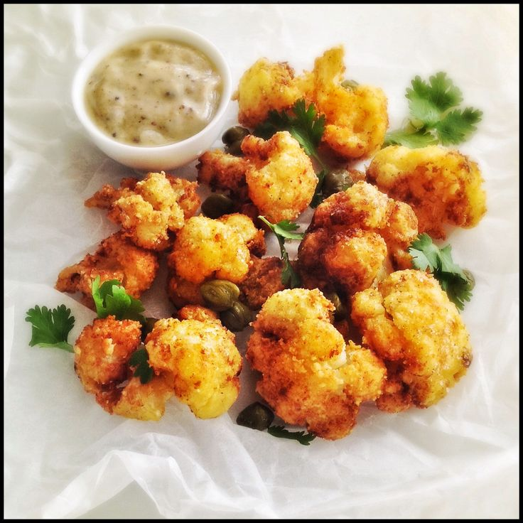 Crispy Cauliflower with Capers