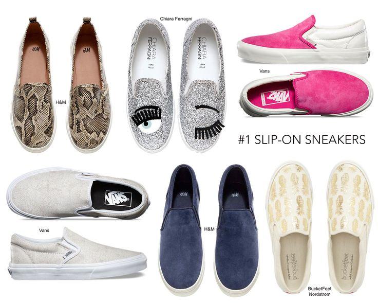 Uma das peça chaves deste verão: slip-on sneakers! Mais em envogueissue.com  Must have for the summer: slip-on sneakers! More here envogueissue.com