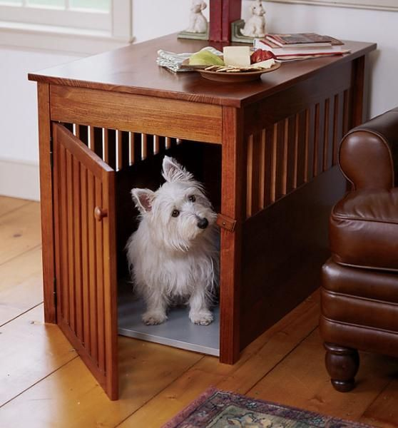 dog kennel/crate designs | Dog Crate Plans