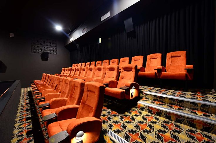 SAWTELL CINEMA: Sawtell Cinema in NSW, Australia, installed 180 Effuzi Club cinema seats into their newly refurbished Cinema. Managed by Majestic cinemas, the theatre project included new cinema seating which Alloyfold was chosen to supply.  The Effuzi Club cinema chair was supplied in orange with wooden tablets.