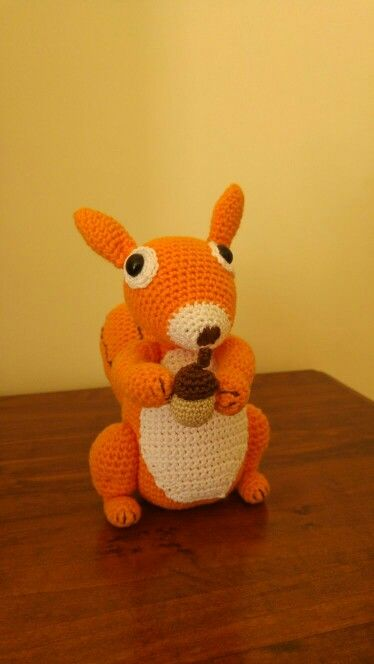 Amigurumi Squirrel!