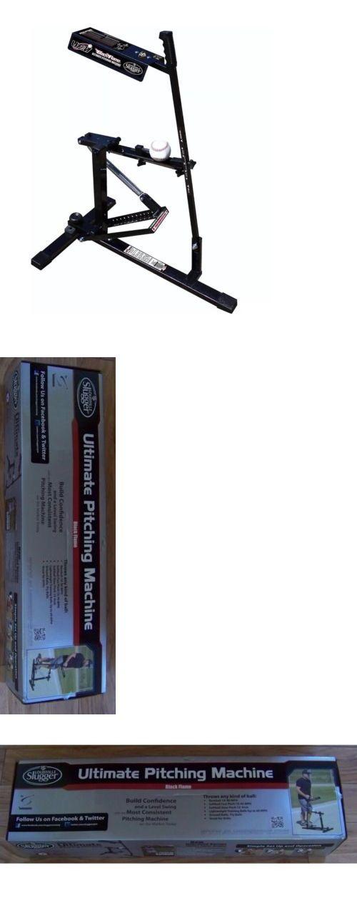 Pitching Machines 58061: Louisville Slugger Black Flame Baseball Softball Pitching Machine -> BUY IT NOW ONLY: $149.99 on eBay!