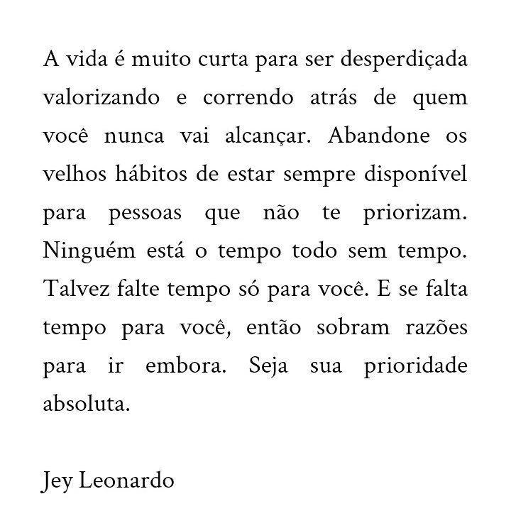 Jeyleonardo Escritosmeus Texto Frase Jey Leonardo A Vida E