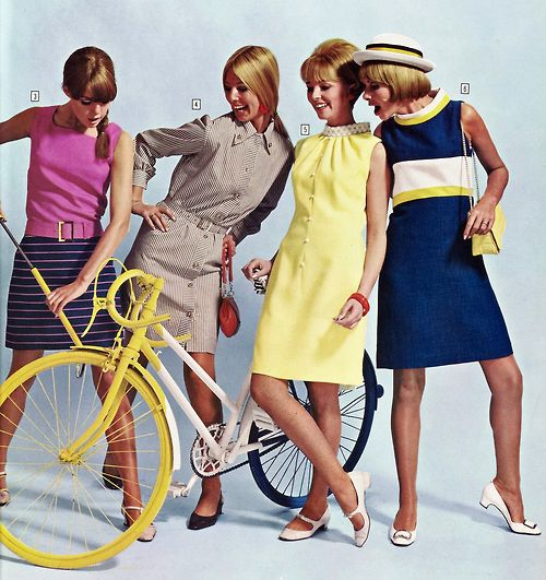 Youth fashions in Kay's Catalogue, 1967. (♥)