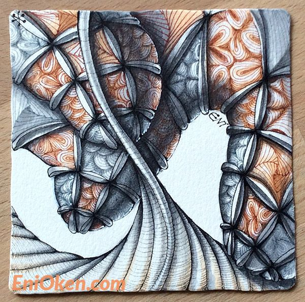 7 best 3dtangle overlapping zentangle images on pinterest doodles learn how to shade zentangle with eni oken enioken fandeluxe Image collections