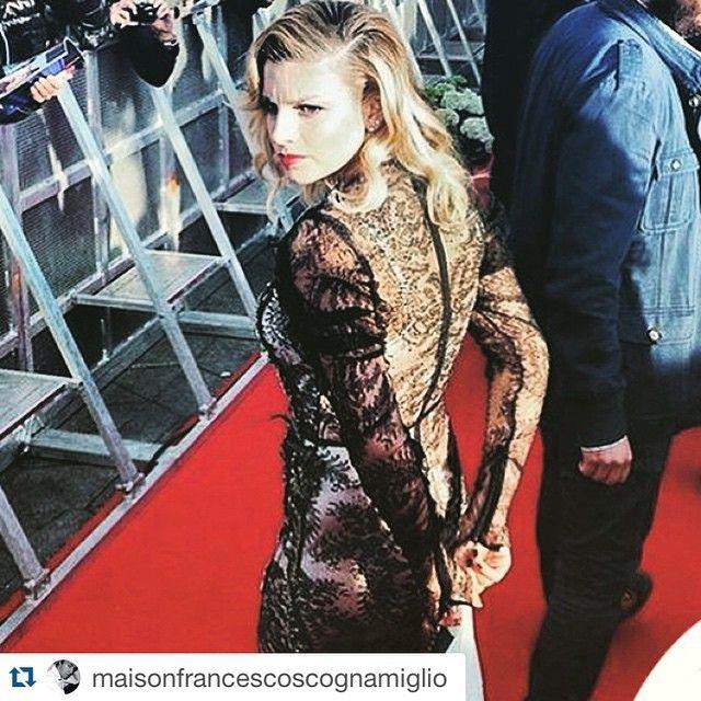 #EmmaMarrone Emma Marrone: #Repost @maisonfrancescoscognamiglio with @repostapp. ・・・ TANTI AUGURI PRINCIPESSA ❤️ U @real_brown #emmamarrone #francescoscognamiglio