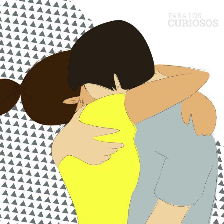 tipos de abrazos