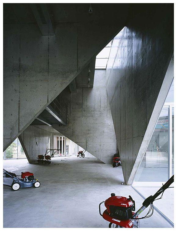 Honda Walk Showroom H by Akihisa Hirata 平田晃久