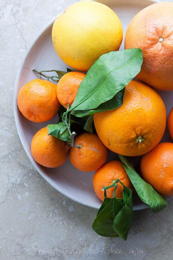 Citrus for Citrus Endive Avocado Salad on gourmandeinthekitchen.com