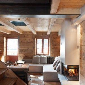 Pi di 25 fantastiche idee su case di montagna su for Piani di casa rustici con soppalco