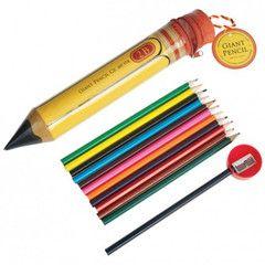 Vintage Giant Pencil Set | Paper Products Online