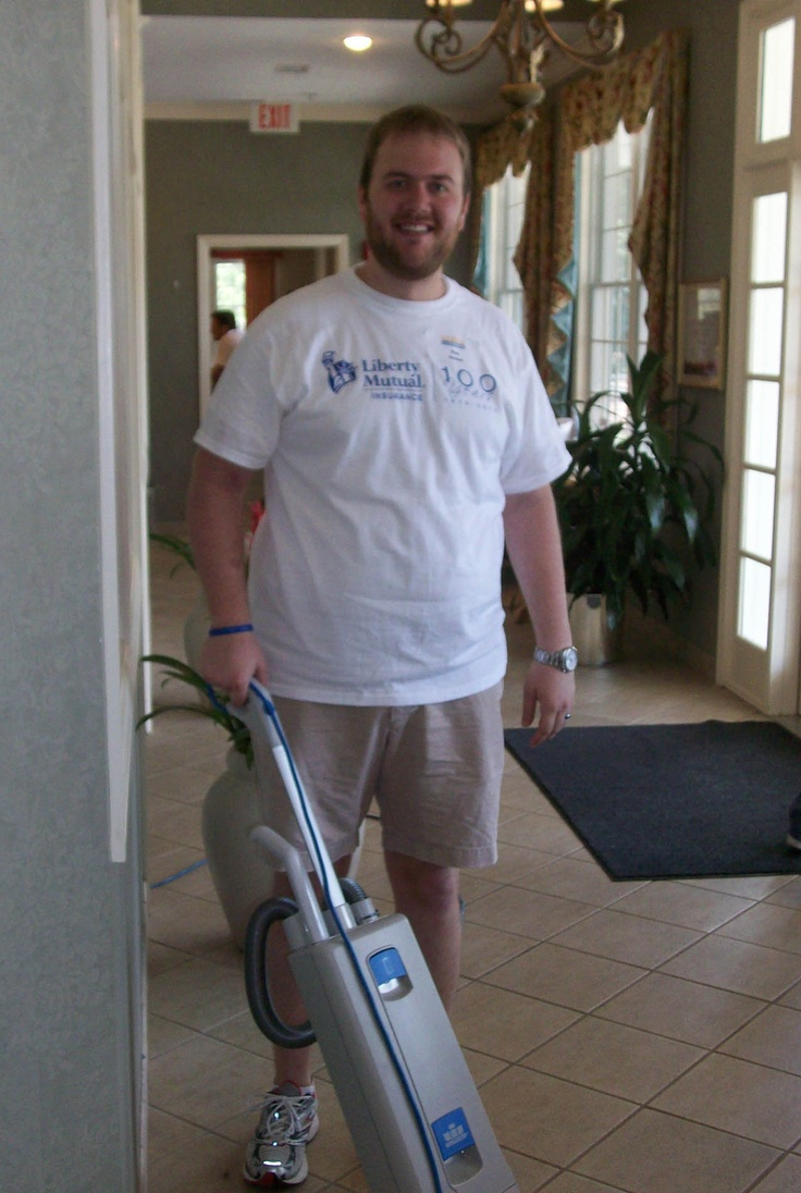 Cancer Support Community of Greater Cincinnati & Northern Kentucky got some sprucing up from Liberty Mutual volunteers