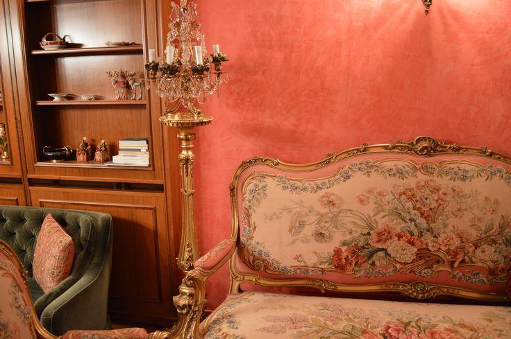aubusson sofa, francois linke