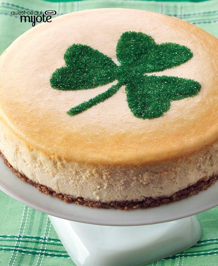 Gâteau au fromage un brin irlandais #recette