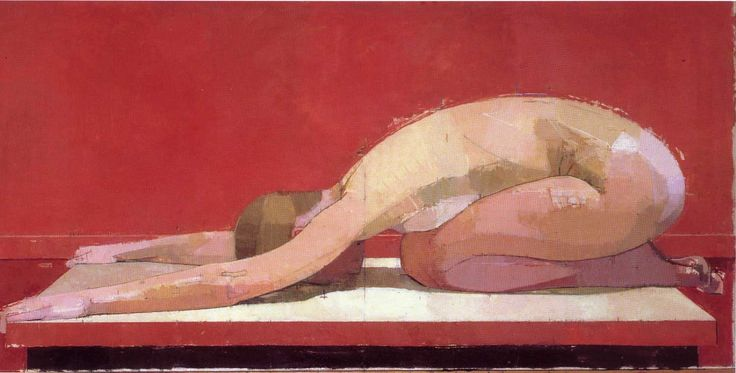 """""""I'm painting an idea not an ideal. Basically I'm trying to paint a structured painting full of controlled, and therefore potent, emotion."""" - Euan Uglow"""