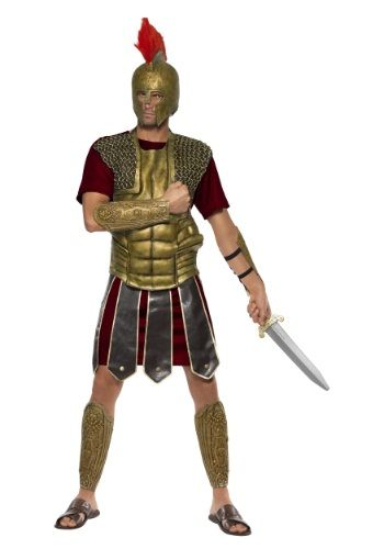 You'll be able to conquer all the vile scum in the coliseum when you wear this Mens Perseus the Gladiator Costume!