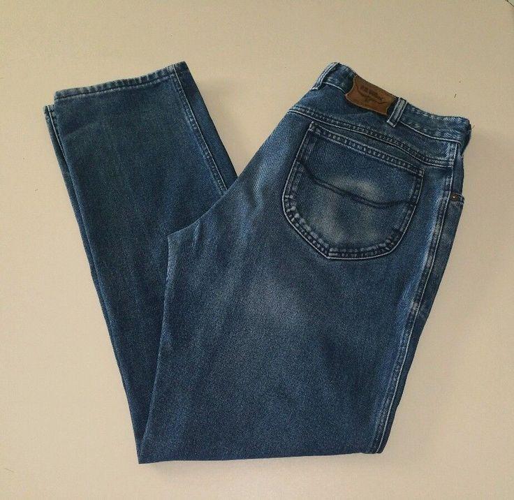 "RM Williams Mens Denim Jeans T759 Size 37"" Waist32"" Inside Leg (37/32) #rmwilliamsjeans #denimjeans"
