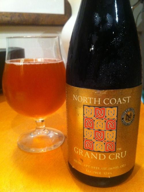 North Coast Brewing Co. 'Grand Cru' Beer Review