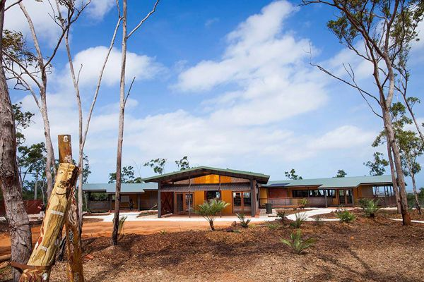 The recently completed Garma Cultural Knowledge Centre at Gulkula expresses Yolngu knowledge, power and identity through the medium of contemporary architectural design.