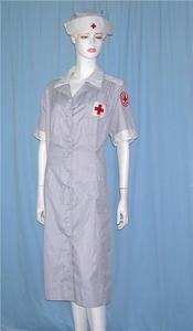 WWII Vintage American Red Cross Nurse Uniform