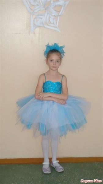 Новогодний костюм балерины для девочки
