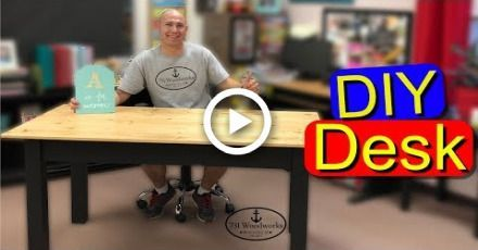 DIY Desk – Wie man einen Schreibtisch baut – #build #desk #DIY