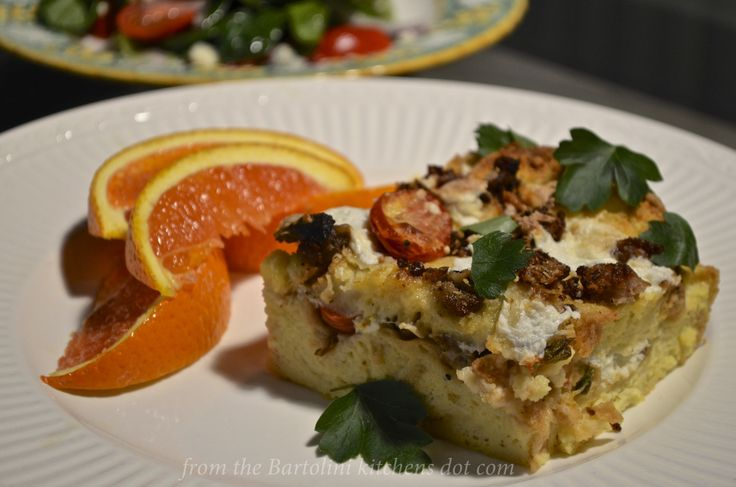 Celebrating St. Joseph's Feast Day with a Sicilian Strata