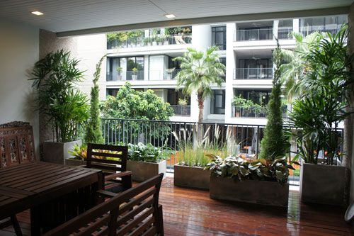 bangkok balcony landscapes