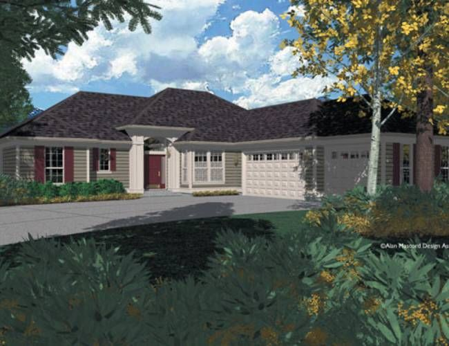 One Of My Favorite Home Designs Mascord Plan 1216 The Shawnee House Plans Pinterest