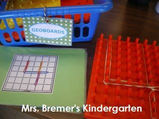 Free printable number geoboard cards. Hands-on way to practice number formation and fine motor skills.