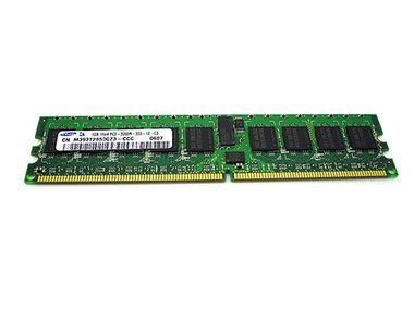 1GB PC2-3200R 400MHz 1Rx4 DDR2 ECC Memory RAM DIMM X1562