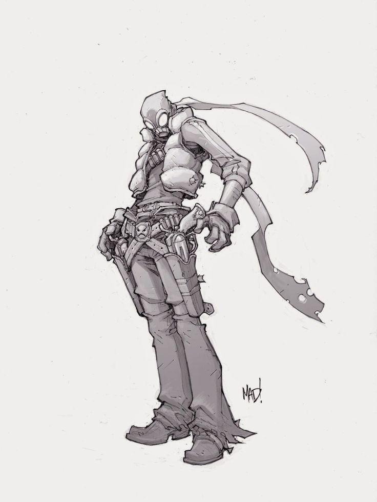 Cannon Busters Seezar by Joe Madureira