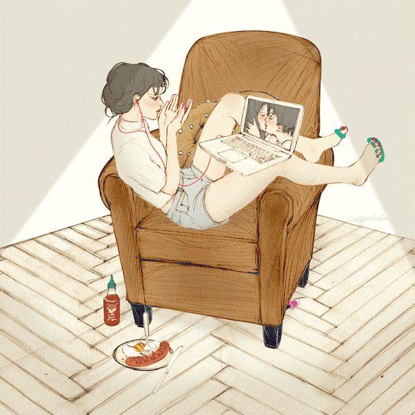 (모처럼 After so long - 1/1) 로맨스가 필요한 밤 혼자 보는 로맨스 영화가 더 두근두근