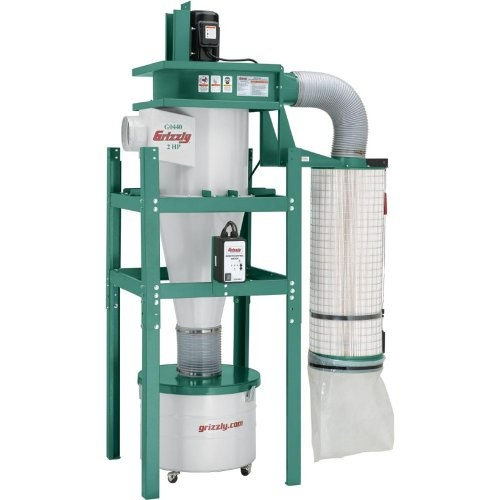 Grizzly G0440 cyclonic dust collector review