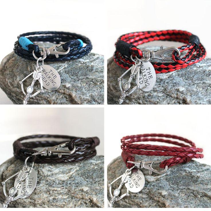 Brand New The Walking Dead Bracelets //Price: $7.95 & FREE Shipping //     #walkingdead