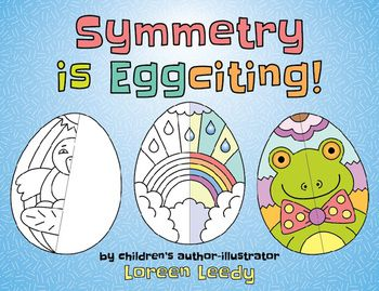 easter eggs symmetry is eggciting spring or easter math and art art ...