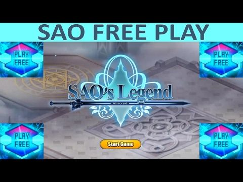 Free Play Sword Art Online Game:  SAO RPG Game On PC