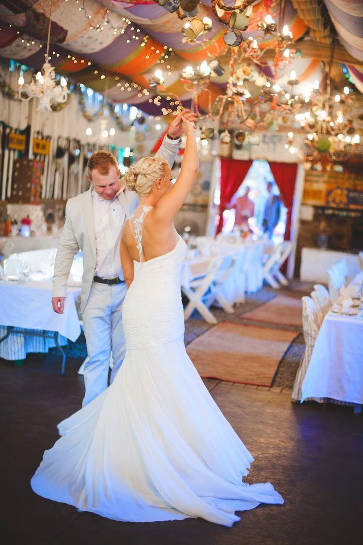Wedding Venue Cullinan. Opening the dance floor.